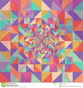 Geometric Seamless Pattern Grunge Texture Background EPS10 ...