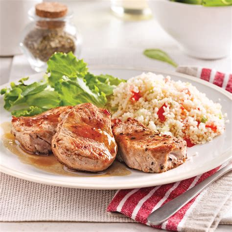 cuisine erable médaillons de porc au cidre et sirop d 39 érable recettes