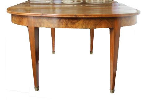 6 foot long dining table 19th century french directoire walnut dining table for