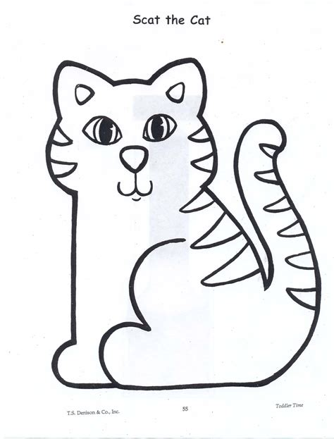 Cat Template Cat Template For Images Cliparts Co