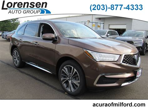 Acura Milford by New 2019 Acura Mdx Sh Awd With Technology Package Suv In