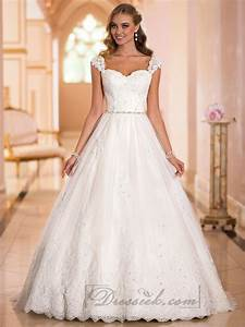 straps sweetheart lace princess ball gown wedding dresses With ball gown wedding dress with straps