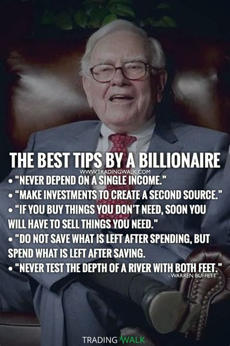 tips   billionaire warren buffett quotes