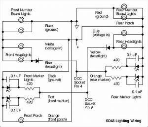 Sd45 Headlight Schematic