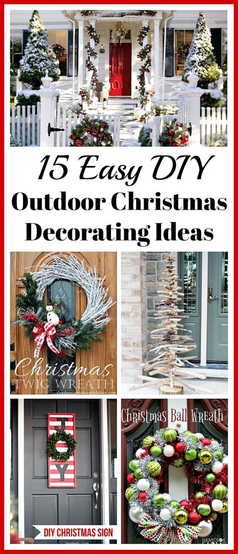 outdoor christmas decorating ideas on a budget nautical