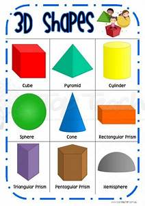 pictures of 3d shapes and their names | Sign up to get ...