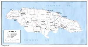 MAPS OF JAMAICA Jamaica