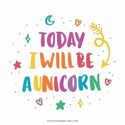 Unicorn Quotes Printable Fun Birthday Spot Printables