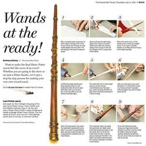 How to Make Harry Potter Wands Out of Paper