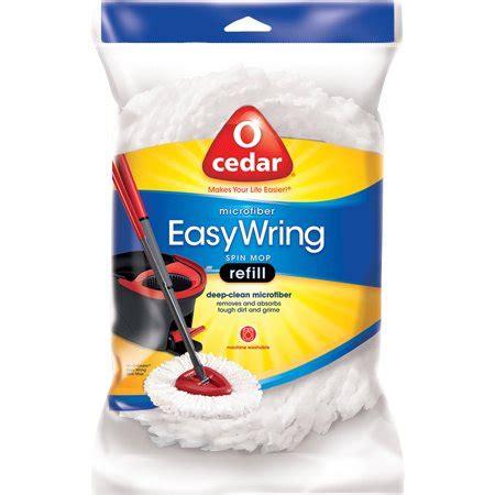 o cedar mop refill o cedar microfiber easywring spin mop refill walmart