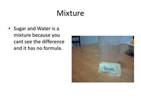 top 28 is sugar water a mixture matter can be