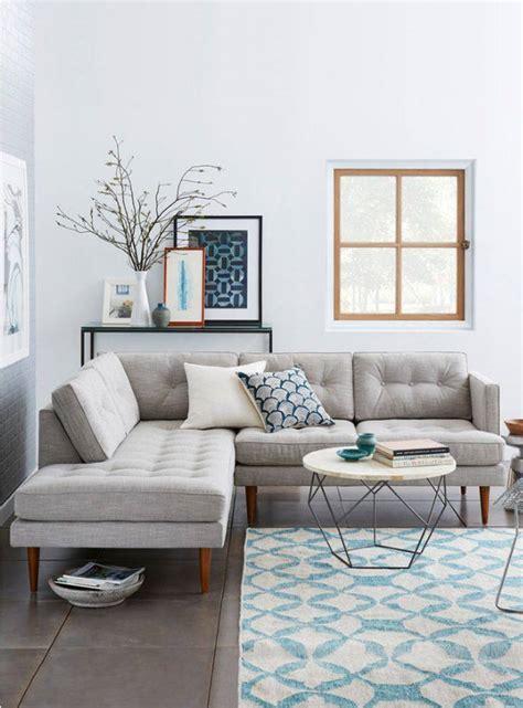 deco fr canape déco moderne pour le salon 85 idées avec canapé gris