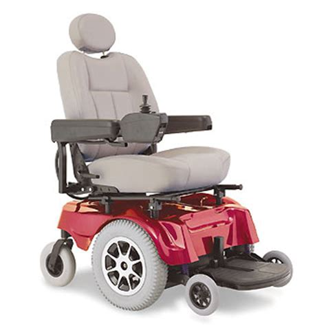 Jazzy Power Chairs by Pride Jazzy 1100 Pride Rear Wheel Drive Power Wheelchairs