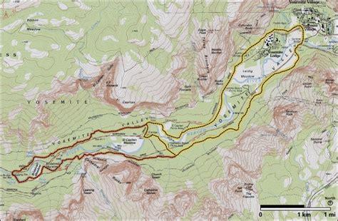 yosemite valley loop trail yosemite national park u s