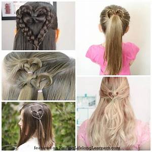 50 Adorable Valentine39s Day Hairstyles For Girls Easy