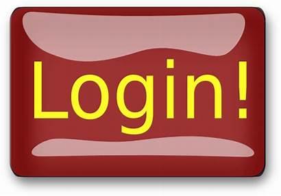 Login Button Member Rectangle Clip Clipart Clker
