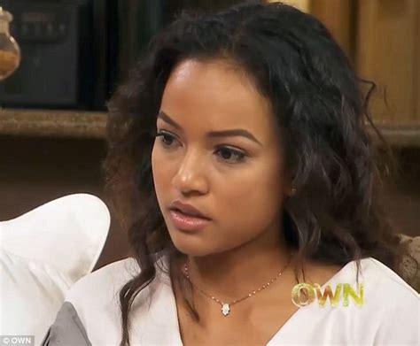 Karrueche Tran recalls moment she knew Chris Brown was ...