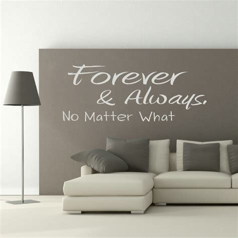 stickers chambre parentale wall stickers quotes a quote