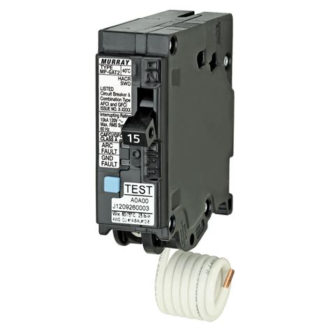 gfci circuit breaker amazon com siemens mp120df 20 amp afci gfci dual function circuit breaker plug on load center
