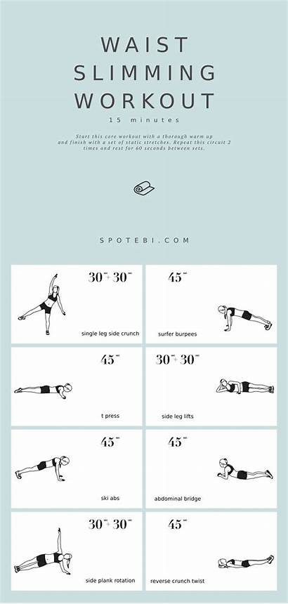 Waist Workout Equipment Slimming Exercises Spotebi Workouts