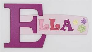 photo gallery of painted wooden name signs made by With photo letter name signs