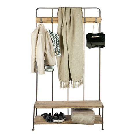 poubelle porte cuisine porte manteau vestiaire d 39 entrée en métal et bois giro