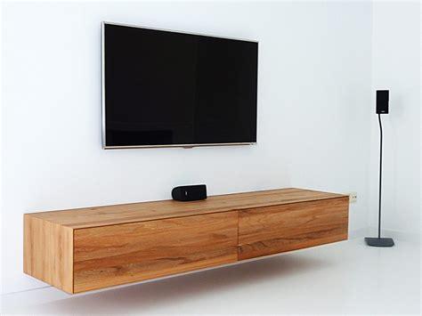 zwevende tv meubel homease