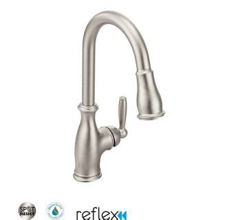 Moen Brantford Kitchen Faucet 7185 by Faucet 7185srs In Spot Resist Stainless By Moen