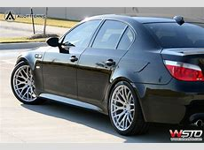 20 inch Alloy Technic Mesh wheels on an E60 M5 Teamspeedcom