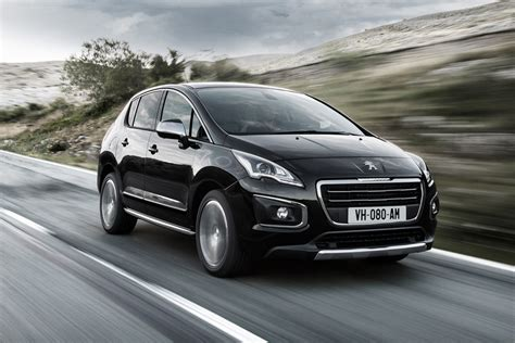 peugeot 1008 used peugeot 3008 facelift revealed auto express