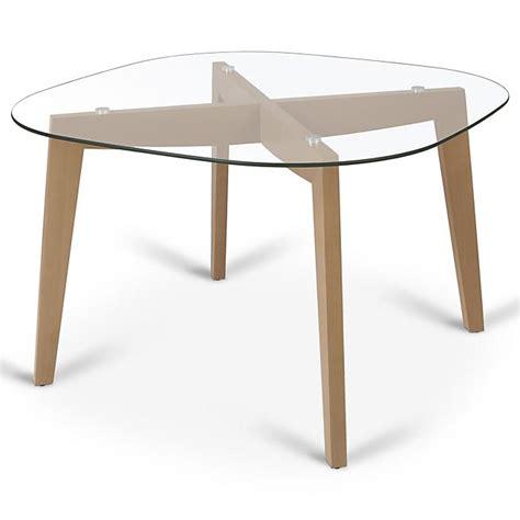 bureau alinea verre les 25 meilleures idées concernant table ronde en verre
