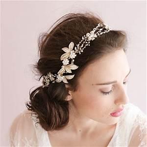 Buy Handmade Gold Crystal Pearl Bridal
