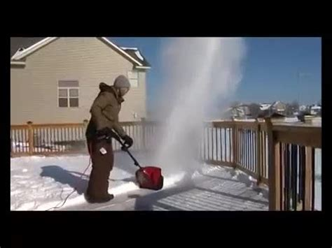 electric snowblowers electric shovels  toro youtube