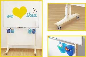 Whiteboard Mit Ständer : ikea hack whiteboardst nder f r unter 24 euro ikea hacks pimps blog new swedish design ~ Watch28wear.com Haus und Dekorationen