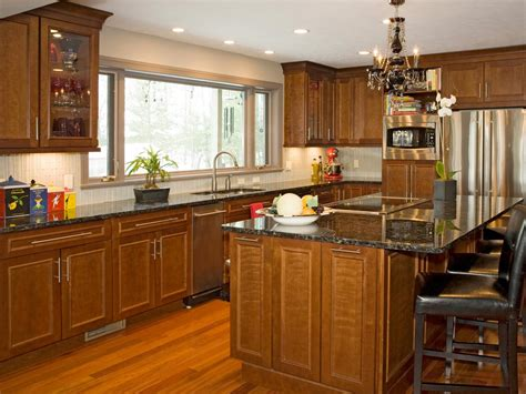 kitchen cabinets ideas cherry kitchen cabinets pictures options tips ideas