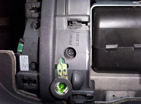 passenger airbag light on removing the passenger side interior wood jaguar forums