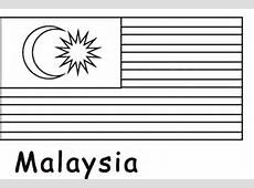 Malaysia Flag coloring page Free Printable Coloring Pages