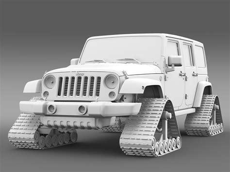jeep new model 2016 jeep wrangler unlimited x1 crawler 2016 3d model