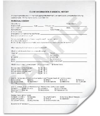 esthetician forms client intake forms what you need to know and the