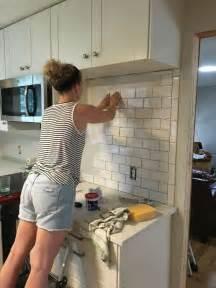 how to do a tile backsplash in kitchen 25 best subway tile kitchen ideas on subway