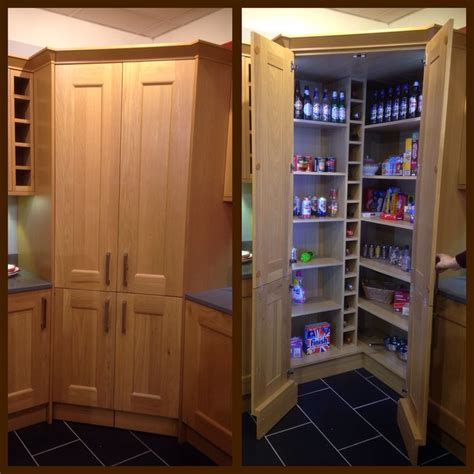 Corner Cupboards Ikea by Concealed Walk In Pantry With Led Lights This Would Be