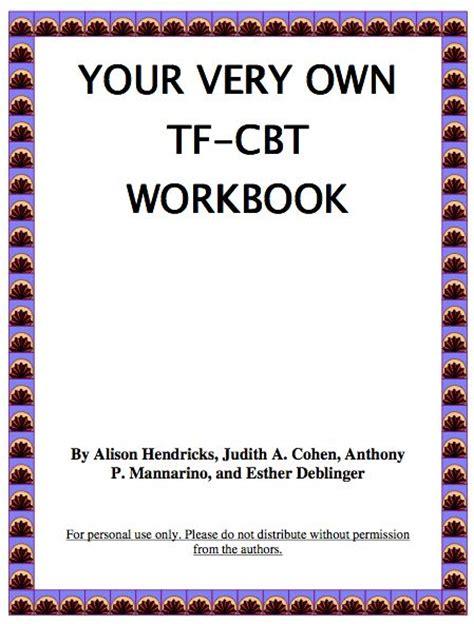 focused cognitive behavioral therapy workbook pdf