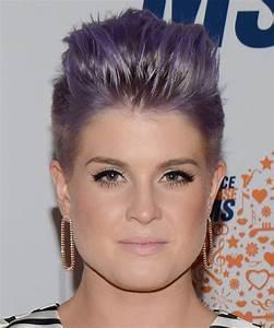 Kelly Osbourne Short Straight Alternative Emo Hairstyle ...