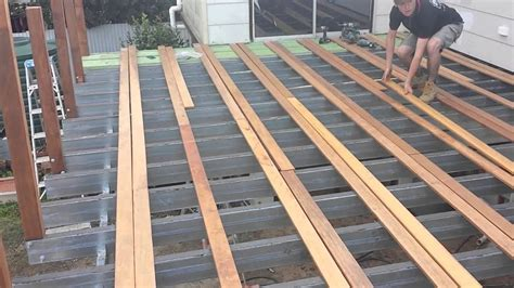 how to build an amazing deck roof by adaptit youtube