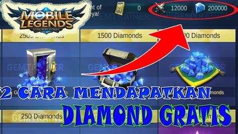 2 Cara Mendapatkan Diamond Mobile Legends Secara Gratis