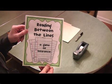 inference activity reading lesson plan  elementary