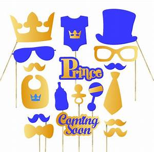 Royal Prince Decorations 18pc Royal Prince Baby Shower Photo