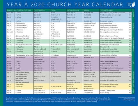 church year calendar year   downloadable augsburg