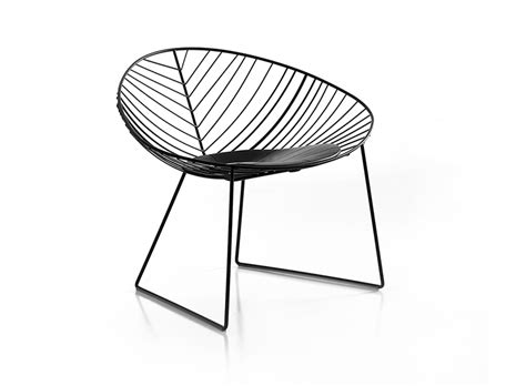 leaf sled lounge arper design furniture