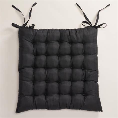 world market chair cushion black zen chair cushion world market